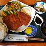 お食事処 みうら - アジフライ定食(750円)