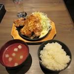 肉バル 東京グリルセンター - 国産豚トンテキ定食