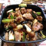 秋吉 - 料理写真:やきとり重(追いねぎま) 530円