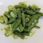 カフェ スペーラ - ポテトと隠元のサラダ