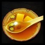 北白川中国料理 叡 - 日替わりランチ(スープ)