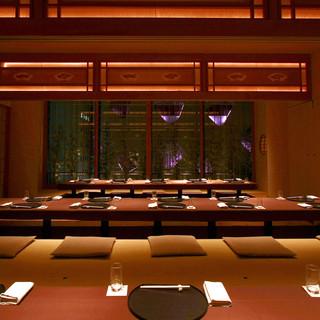 テーブルタイプの洋風個室(4~8名様)【琥珀】