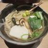 つきじ 文化人 - 料理写真:「松茸おかめそば」