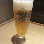 つきじ 文化人 - 生ビール(ハートランド)