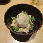 つきじ 文化人 - 「鴨おろしポン酢和え」
