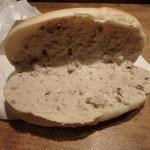 パンの田島 - モンブランクリーム御開帳