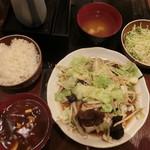 96981749 - 14番  肉野菜炒め全容