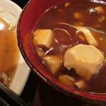 オール 299円 雅 - 掬うと、豆腐が出てきます(^^)