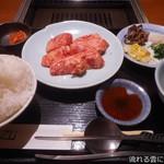 焼肉家 KAZU 神楽坂 - 焼肉定食
