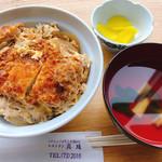 レストラン真珠 - カツ丼(出前)