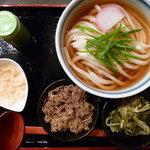 瀬戸内製麺710 - ひやひや肉うどん(H23.9)