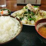 9701609 - 山盛りの野菜炒め(笑)