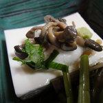 和仲荘 - とろろ豆腐