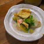 97010079 - 鮭とロメインレタスの豆乳漬け