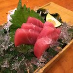 97011350 - H.30.11.15.夜 マグロ刺身 590円税別
