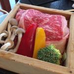 97011648 - 牛肉と野菜のせいろ蒸し