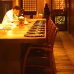 東京肉割烹 西麻布 すどう - カウンター席17席テーブル席3名様~12名様