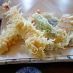 蕎麦きり さいとう - 天ぷら