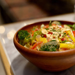 焼肉ZENIBA - 野菜たっぷりグリーンサラダ