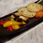 焼肉ZENIBA - 野菜のグリル4種盛り