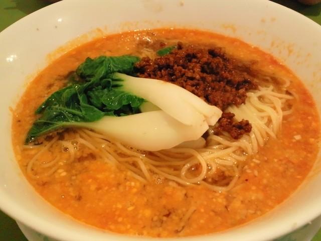 吉華 上野毛店 - 坦タン麺は高級で上品な味
