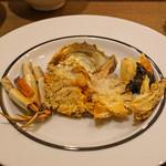 レンゲ - 上海蟹 オスの姿蒸し