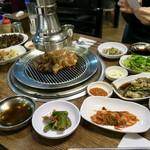 흥부골숯불돼지갈비 - 料理写真:돼지갈비(デジカルビ/豚カルビ 250g) 13000₩