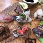肉寿司ちょんまげ - 7貫