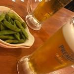 大衆酒場 やまと - 生ビール 380円