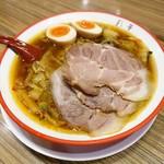 97026492 - サイカラーメン(モモチャーシュー入)トッピング煮たまご 1,008円