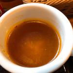 97036502 - セットのスープがマジ美味い