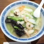 中国家庭料理 MAO - 海老麺 940円税込