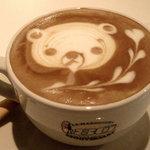 ROASTERS CAFE MANO+MANO - くまちゃん、かわいい♪