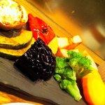 煮炊屋 金菜 - 季節の焼き野菜