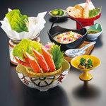 かに雑炊膳(全5品)