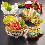 かに小鍋膳(全7品)