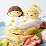 キキ&ララのなかよしいちごパンケーキ