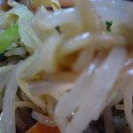 ラーメン ふじ - 麺と具