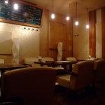 イタリア食堂 CHIANTI-BUONO - 落ち着いた喫煙シート♪