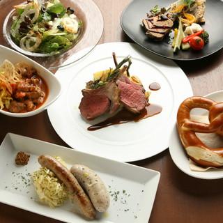 ドイツ料理でご宴会