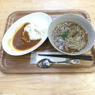 安曇川キッチン - 料理写真:ミニカレーセット  ¥1050