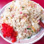 玉名拉麺 千龍 - 五目焼飯 700円 ごはんの量はなんと1キロ弱‼︎