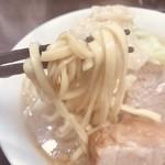 ラーメンいつき - 麺リフトアップ