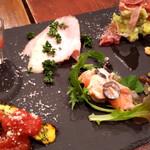 チェルピーナ邸 イタリア家庭のごちそう&ローマピッツァの酒場  - 前菜盛り合わせ