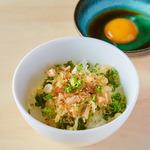 ★天ぷら屋のたまごかけご飯