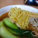 勝どき食堂 - 麺リフト