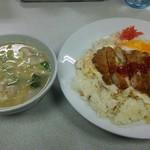 お食事処 ポーク - 料理写真:ポーク風ライス豚汁セット。