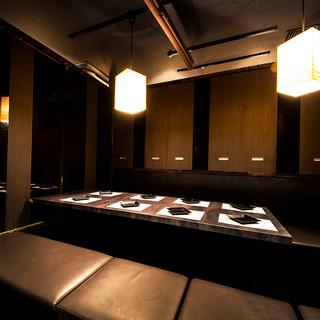 《個室完備》少人数~団体様まで個室席へご案内!