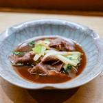 花いち - 料理写真:☆牛肉と葱のすき焼き