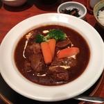 たんや 善治郎 - 牛タンシチュー定食